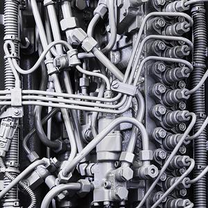 Maschinenbau Motor